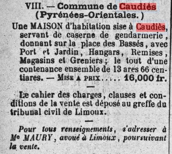 Gendarmerie 1879