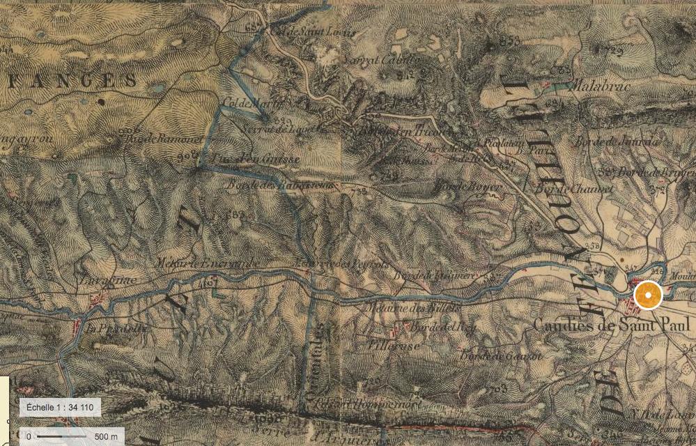 Carte État Major 1820-1866 (geoportail.gouv.fr)