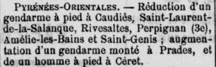 Gendarmerie 1894