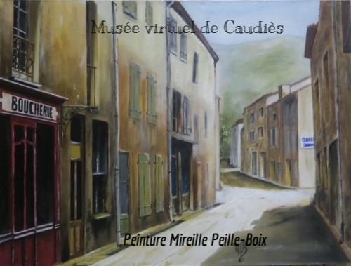 """Boucherie """"Chez Jeanne"""" en 1942"""