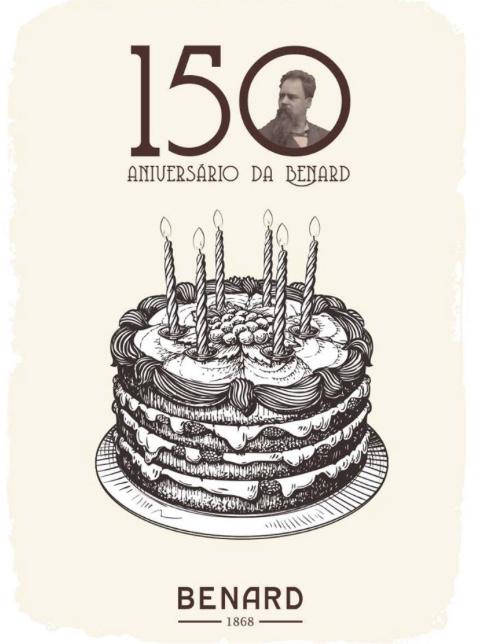 "Carte anniversaire ""Pasteleria Bénard"" (FB)"