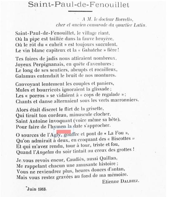 Poème Dalbiez