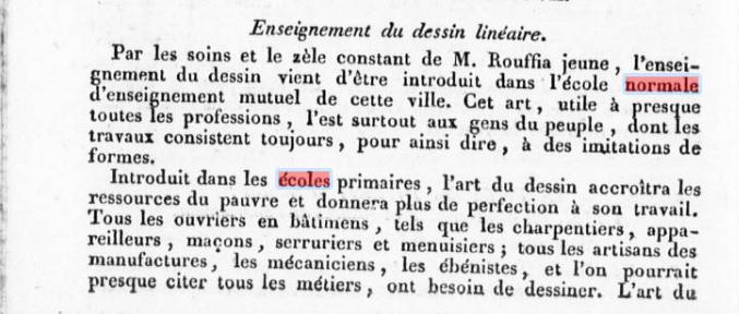 Journal des Pyrénées Orientales, 11 décembre 1819