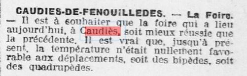 Foire 1923