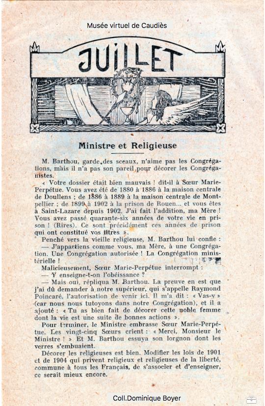 Le Messager de Notre-Dame de La Val Juin 1927