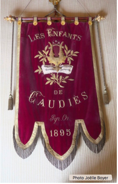 Bannière de la Chorale les Enfants de Caudiès