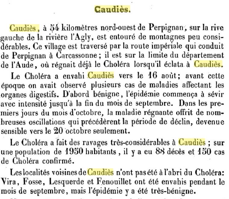 Choléra 1854