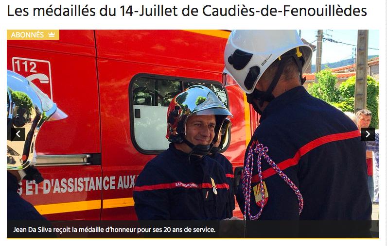 Pompiers Da Silva