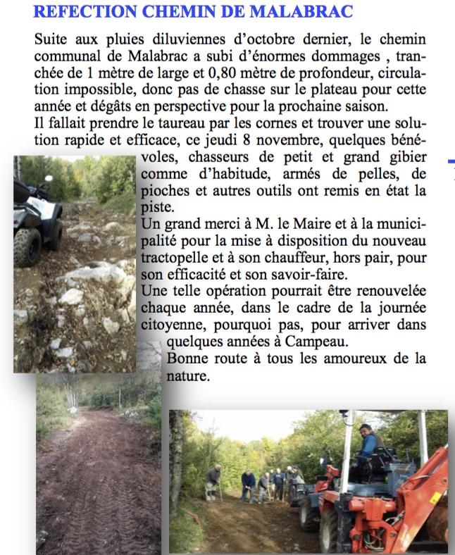 Bulletin municipal novembre 2018
