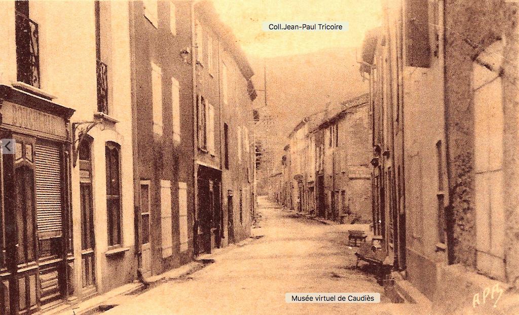 Boucherie (Saqué Vassal)  Grande Rue