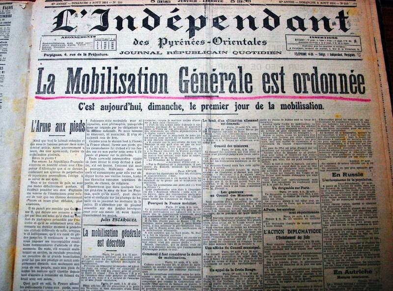 L'Indépendant Mobilisation 14-18