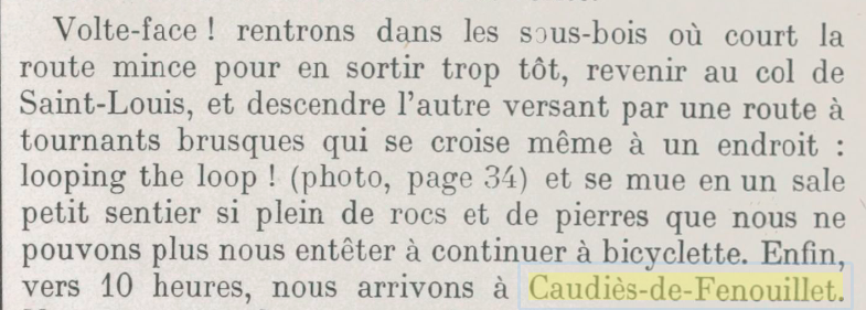 """""""Bicyclettes contre petites et grandes Pyrénées"""""""
