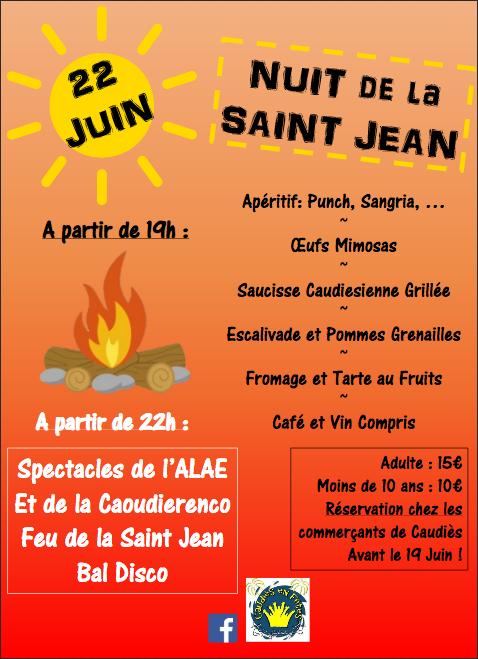 Feux St Jean Affiche 2019