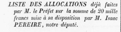 Bienfaisance 1864 1