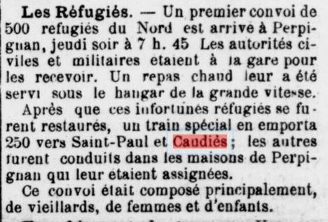 Réfugiés 1915