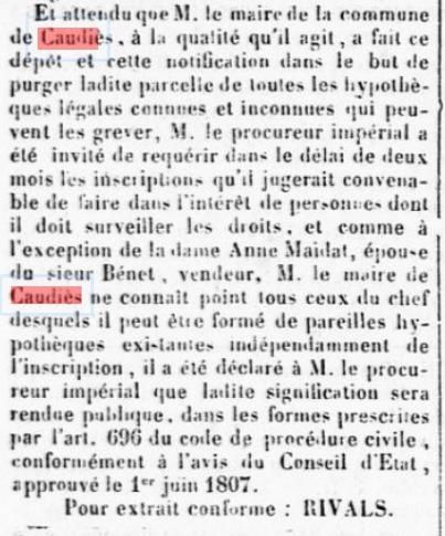 Cimetière 1857