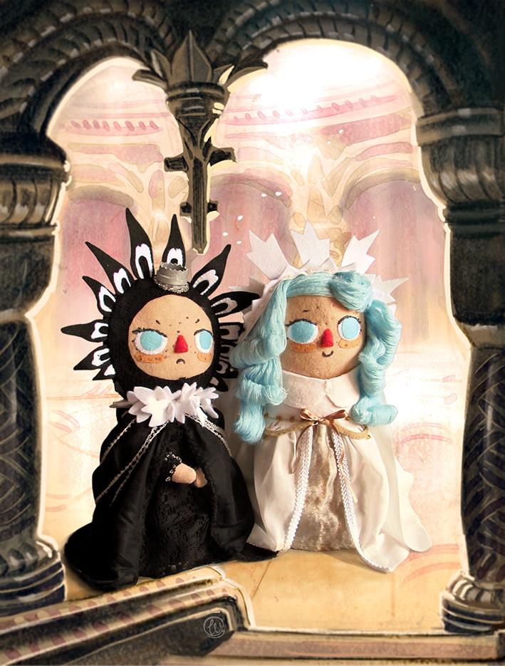 Brigada. Brigada comic, Enrique Fernandez, fan art, comic, felt, fieltro, dolls, muñecas, felt sculpture, escultura, witches, brujas, wenyuri, work, art, costura, toy maker, crafts, crafter