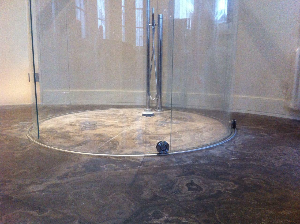 @ALFA-design - круглая душевая Terra Ø1500 мм _ 3