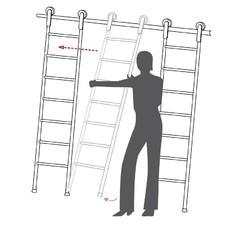 mwe, alfa-design, лестницы, библиотечные, откатные, ролики, навесные, крючки, приставные, альфа-дизайн