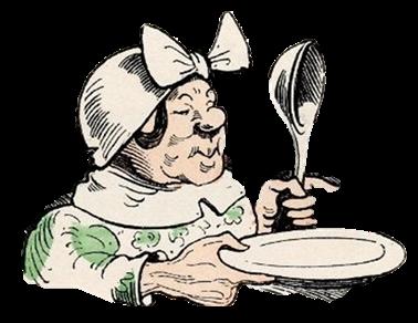 """Mit """"Witwe Bolte"""" geht es rechts in die Küche und zum Bad."""