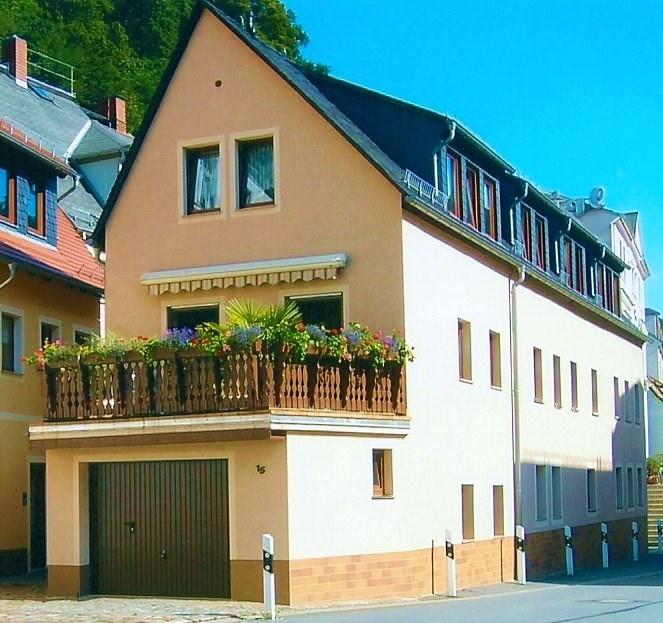 Ferienwohnung, Bad Schandau, Sächsische Schweiz, Kirnitzschtal, zentrale Lage; Elbradweg; Nationalpark