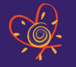 Herz mit Sonne und Hypnose Spirale by Harmonious Balance - Health in Body, Mind & Soul