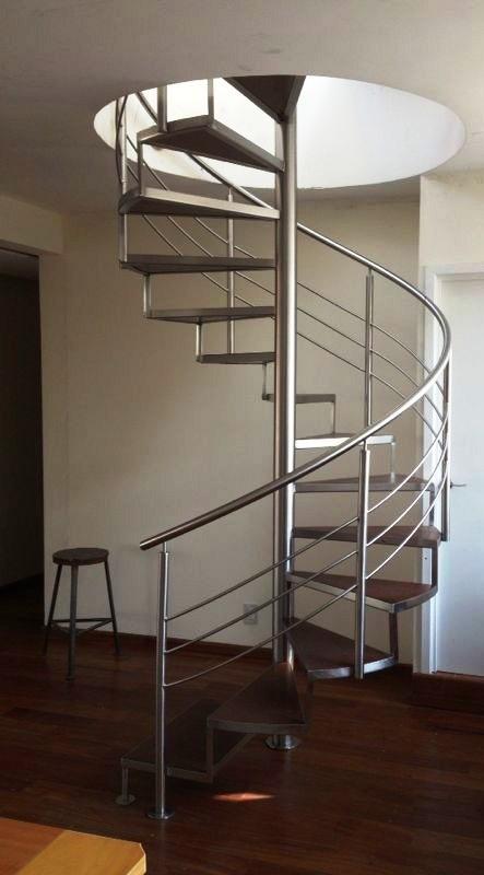 Escaleras de caracol escaleras laravid trabajos en acero - Precio escalera de caracol ...