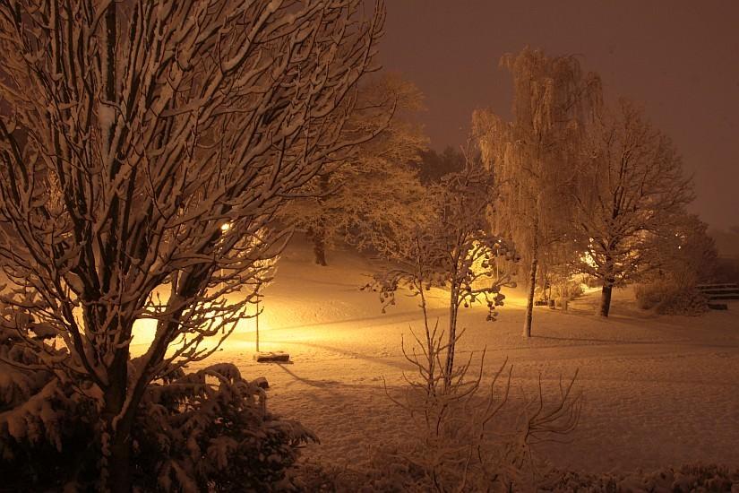 prvi sneg - konec novembra