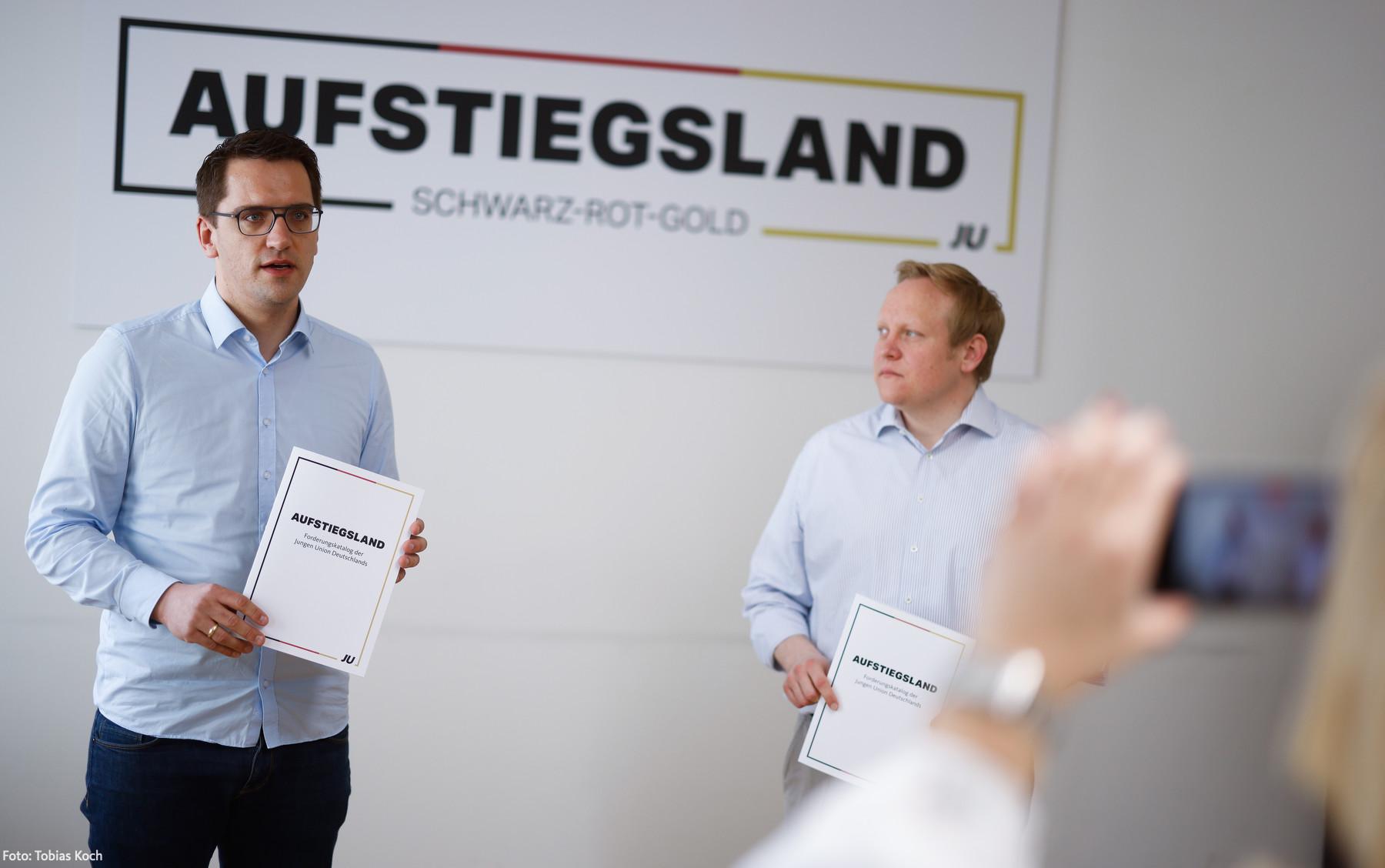 Junge Union Bayern und Junge Union Deutschland gehen gemeinsam mit inhaltlichen Forderungen voran