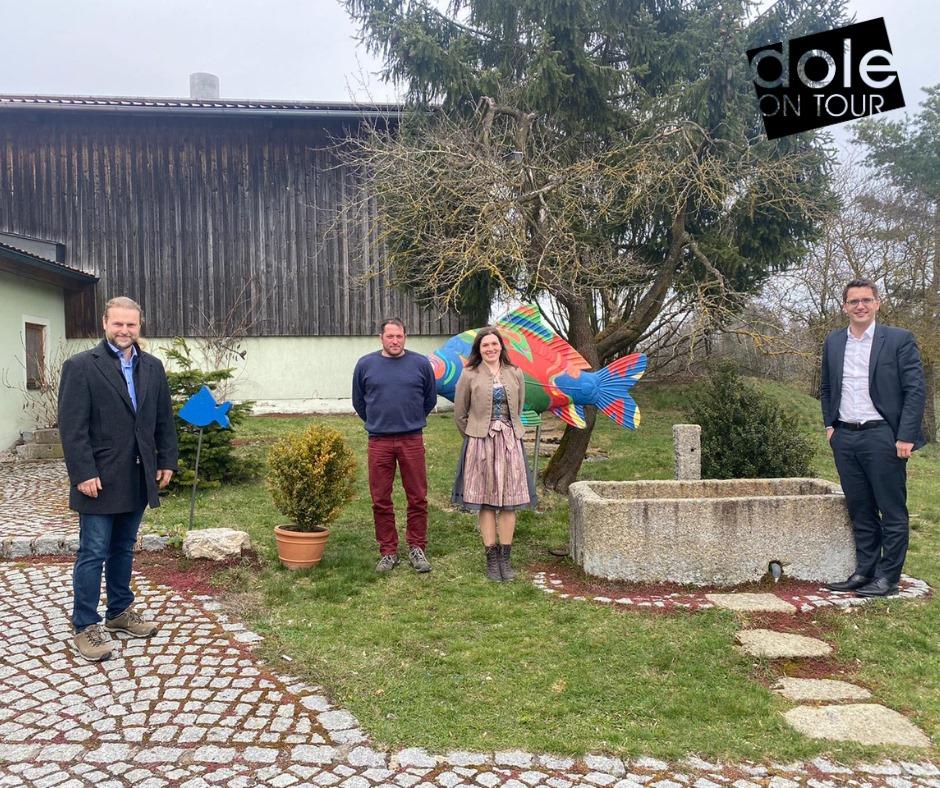 Vor Ort: Geschichtspark Bärnau-Tachov & Fischhof Bächer - Dole on tour