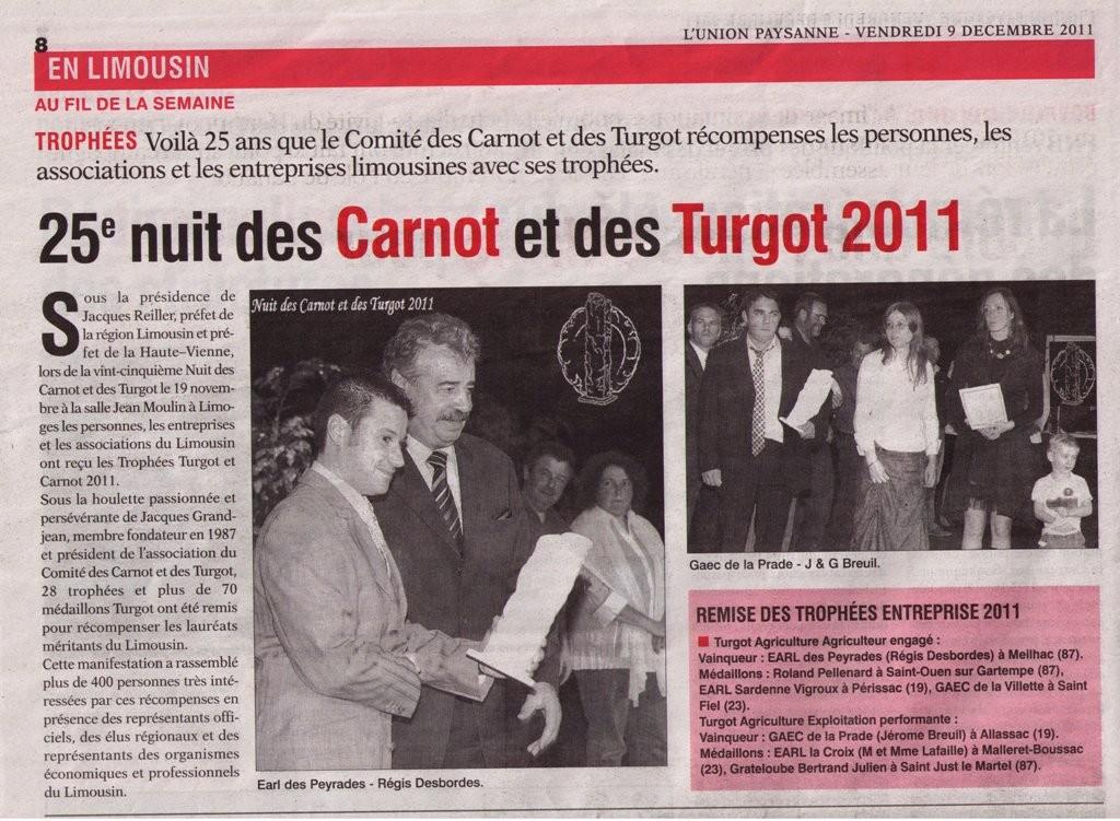 L'Union Paysanne - 9 décembre 2011