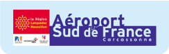 logo carcassonne airport