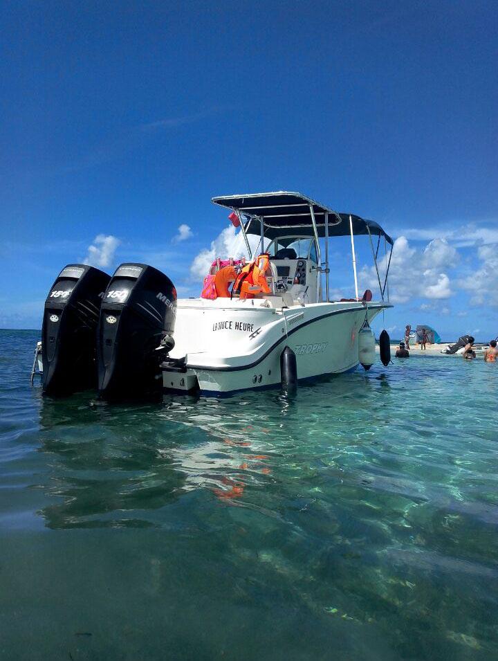 Le François Martinique - Sortie en mer avec le Capitaine Romule
