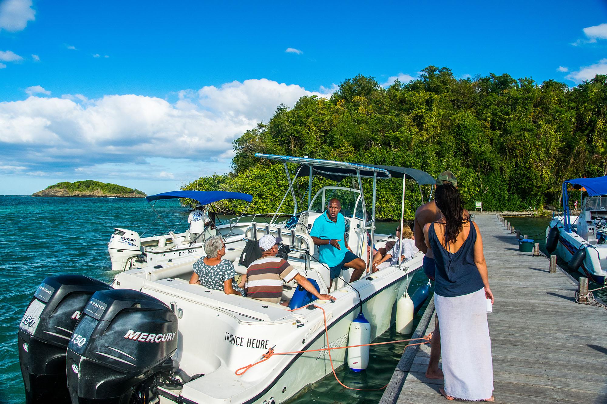 Îlet Madame Martinique - Balade en mer avec le Capitaine Romule