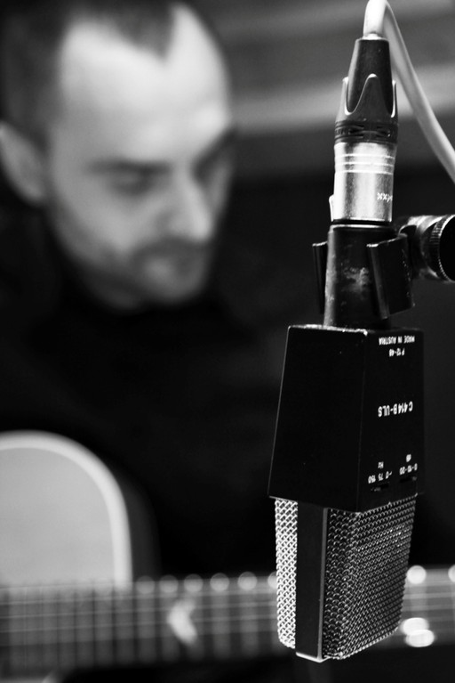 Live bei Radio Ypsilon   © Judith Obermann