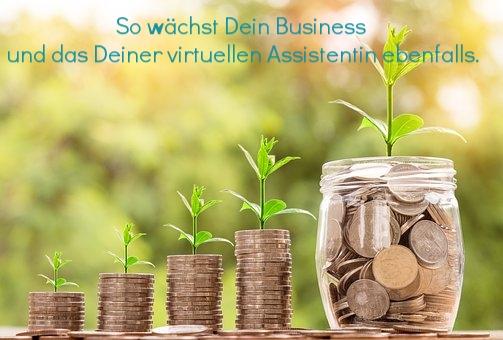 So wächst Dein Business und das Deiner virtuellen Assistentin ebenfalls.