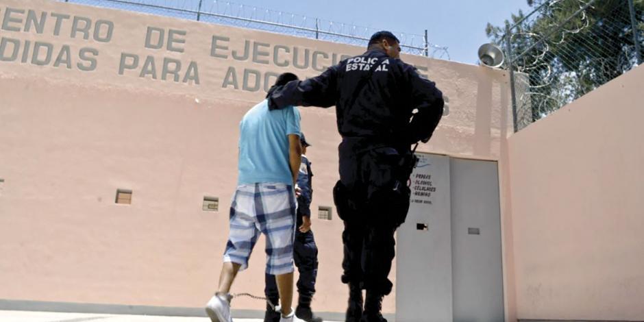Adolescentes en conflicto con la ley