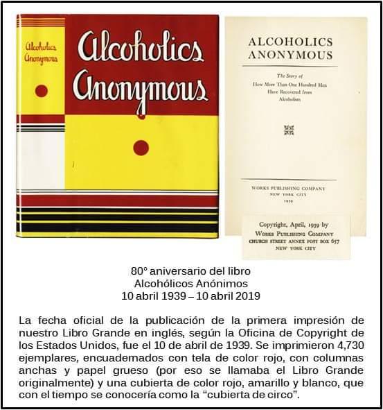Una breve historia del «Libro Grande» Alcohólicos Anónimos