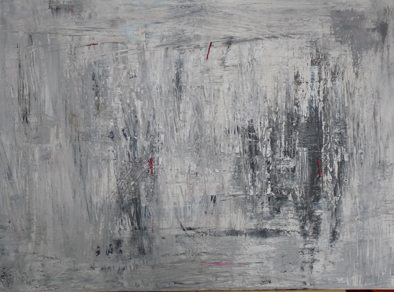 Winter Acryl 50 x 70 cm