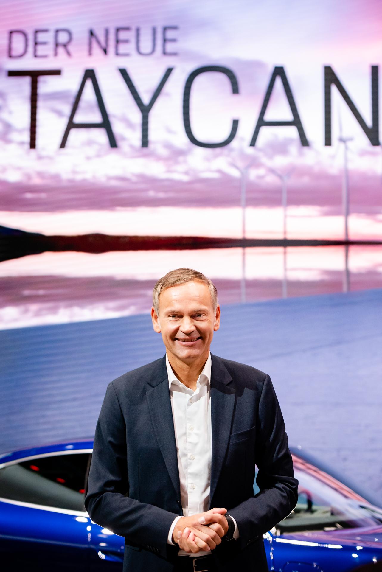 Oliver Blume: Vorstandsvorsitzender Porsche