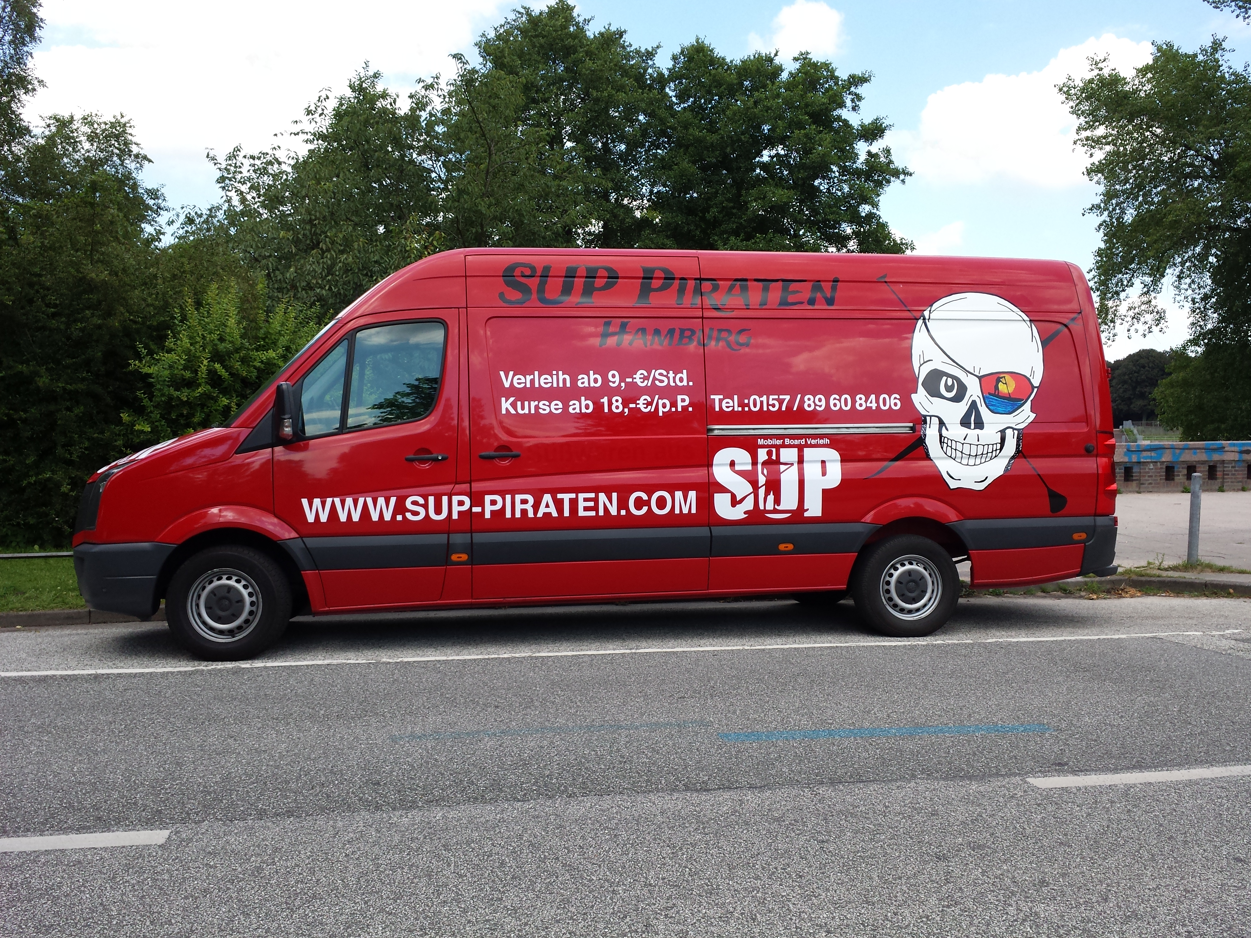 Sup Piraten Hamburg