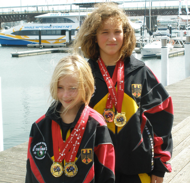 Chantal & Jaqueline, Sydney 2009 (Kampfsport, Kung Fu)
