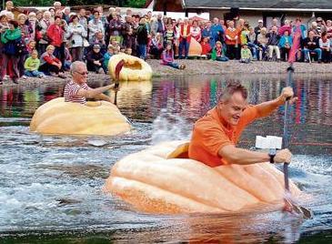 かぼちゃボート競走(2016年9月18日開催)