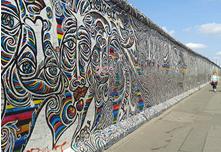ベルリンの壁の一部(2015年夏撮影)