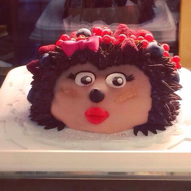 はりねずみのケーキ