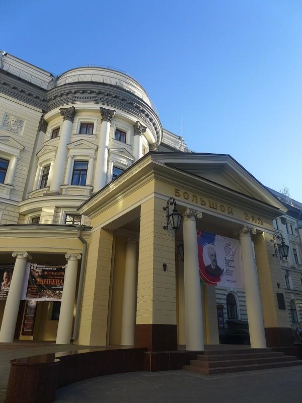 コンクールが行われている モスクワ音楽院