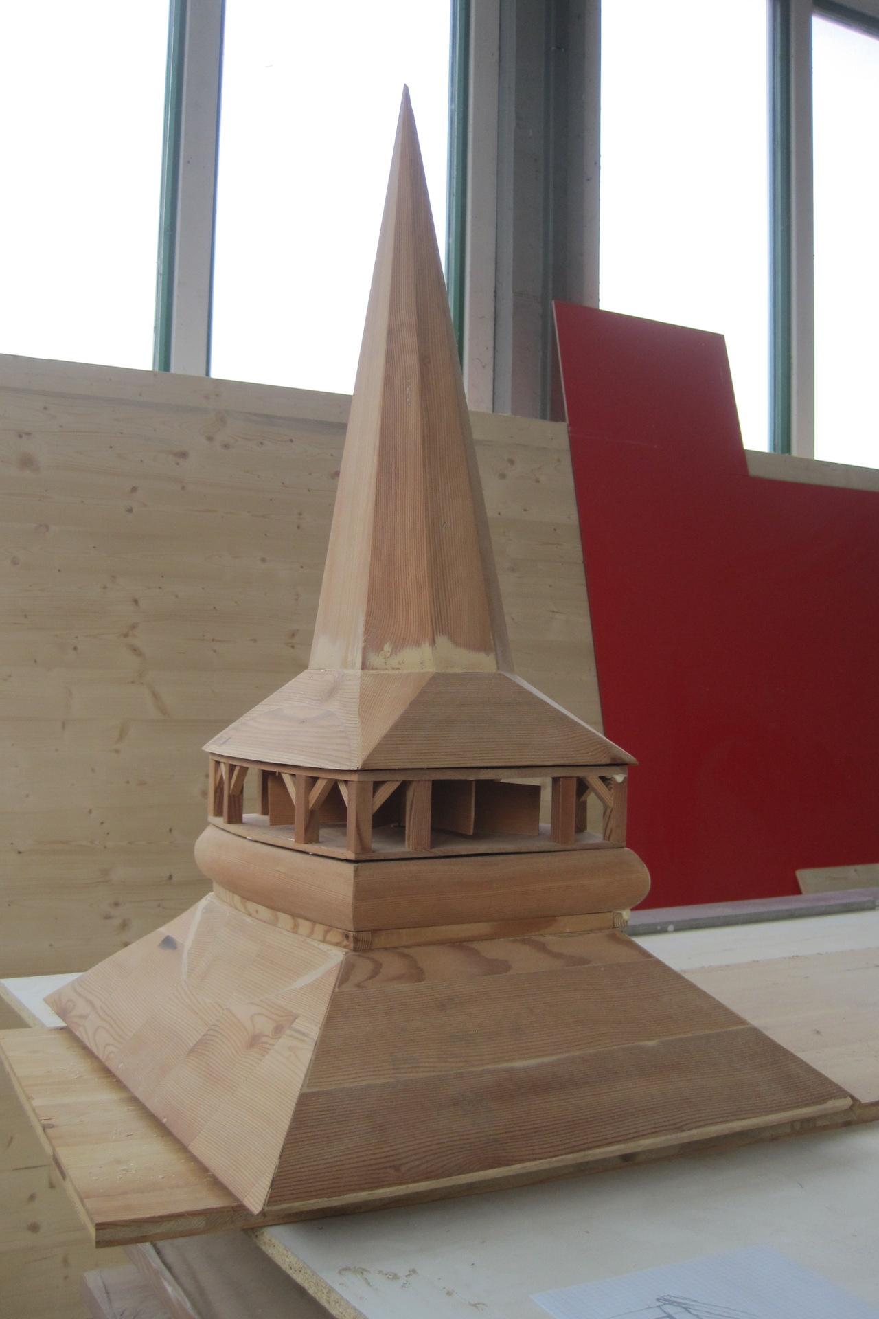 Modell der Konstruktion