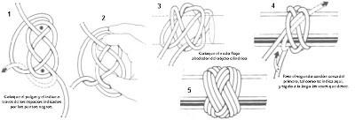3 cordones, 5 vueltas