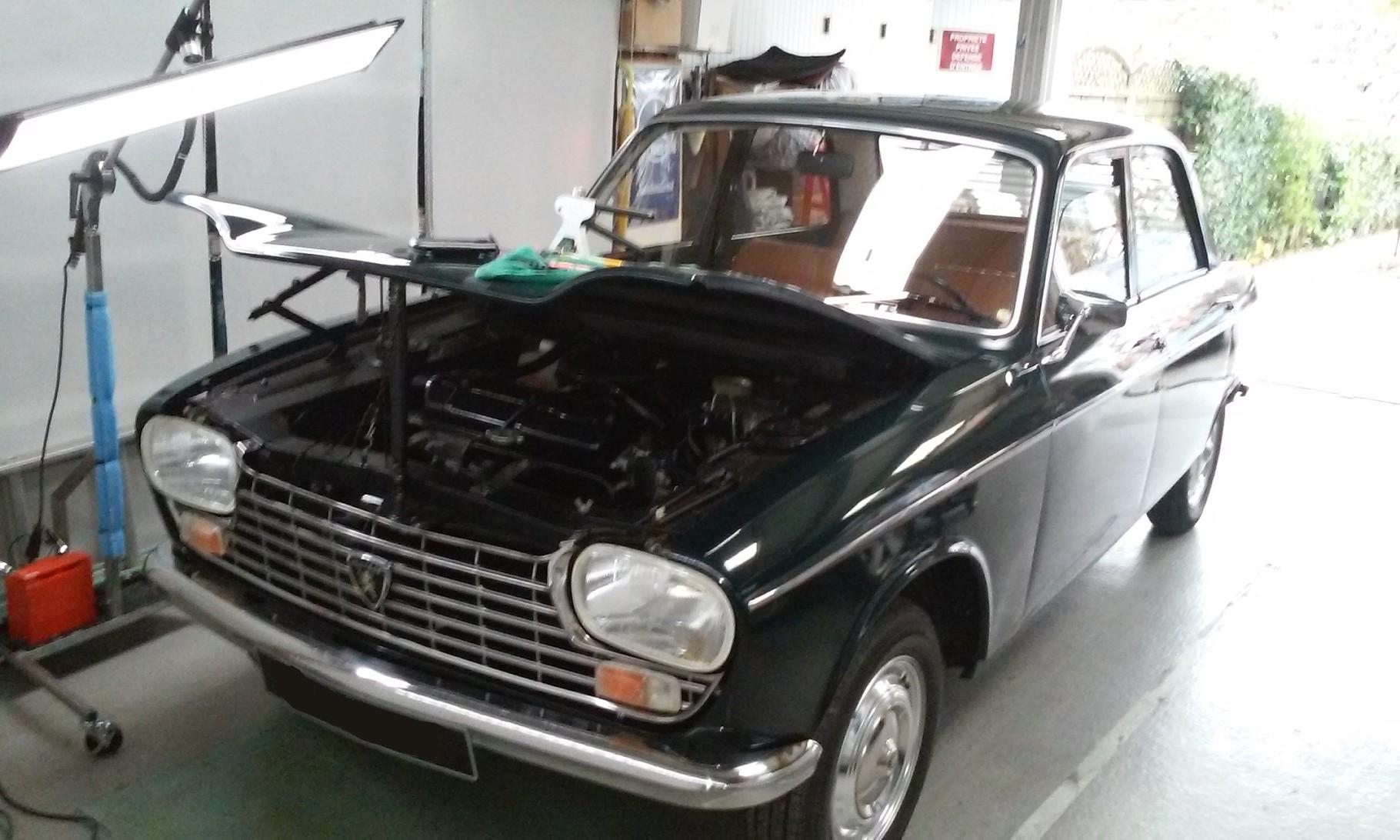 débosselage sur voitures anciennes