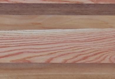 Verschiedene Holzarten gemischt